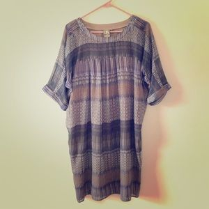 "Anthro ""one September"" Caspian tunic dress"